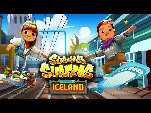 Subway Surfers Iceland (видео)