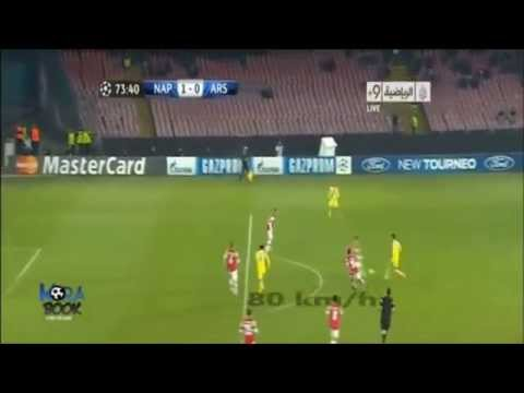 fantastico goal di higuain all'arsenal