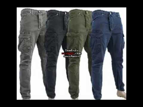 Pantalone Uomo Klixs Modello Cargo Vari Colori Taglie 42 44 46 48 50 52