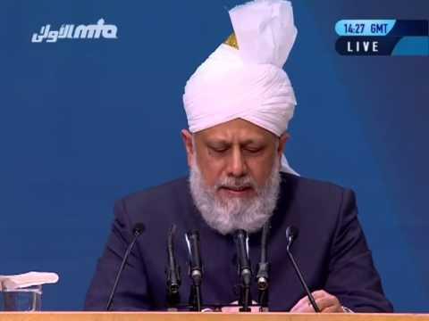 Ansprache des Kalifen (aba) an die nicht-muslimischen Gäste der Jalsa Salana