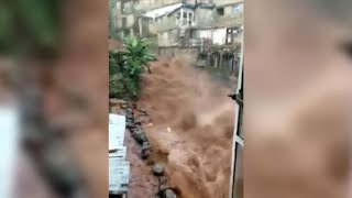 More than 300 people are dead and 600 more missing after heavy flooding caused massive mudslides in Sierra Leone. Subscribe to the