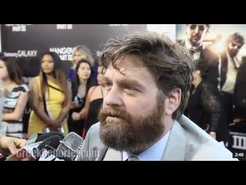 red carpet - http://GreekReporter.com - Watch Zack Galifianakis, Bradley Cooper, Ed Helms, Ken Jeong, Heather Graham and the rest of the cast & crew talk about their late...