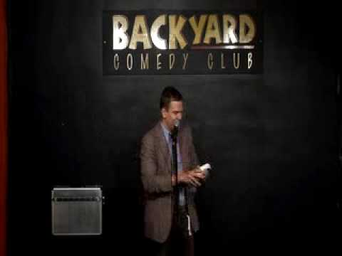 Ali Cook: Beheads a dove at Lee Hursts Backyard comedy club