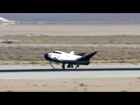 SNC's Dream Chaser Achieves Successful Free Flight At NASA Armstrong