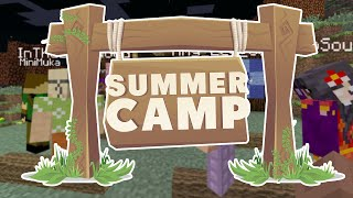 Minecraft | SUMMER CAMP! - THE FIRST DAY AT CAMP [1]
