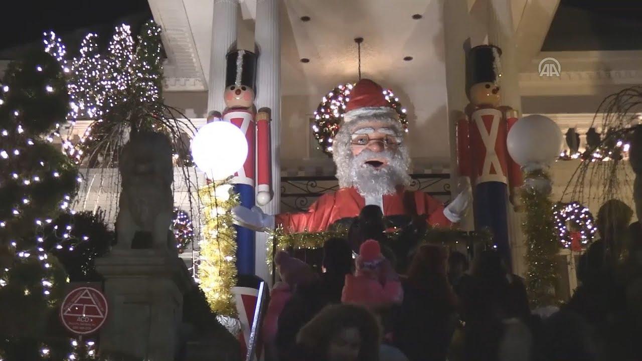 Eντυπωσιακές χριστουγεννιάτικες εικόνες  από Ν. Υόρκη