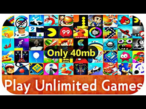 🎮Play Unlimited Games In One App | Play Without Internet(#offline) | Hind Tech | हिंदी में