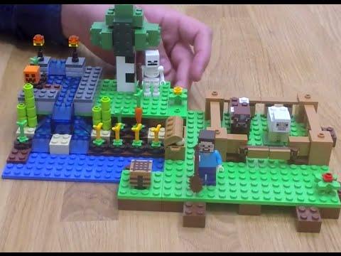 LEGO Minecraft - A farm