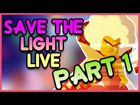 From Temple to the Forest - Steven Universe SAVE THE LIGHT Gameplay LIVE PART 1