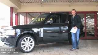 2008 Land Rover Range Rover Supercharged FOR SALE TEST DRIVE Flemings Ultimate
