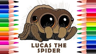 Video ✍ How To Draw And Colour Lucas The Cutest Spider MP3, 3GP, MP4, WEBM, AVI, FLV Desember 2018