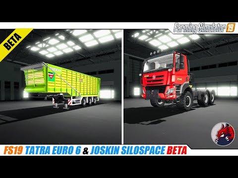 Tatra euro 6 & Joskin silospace v1.0 beta