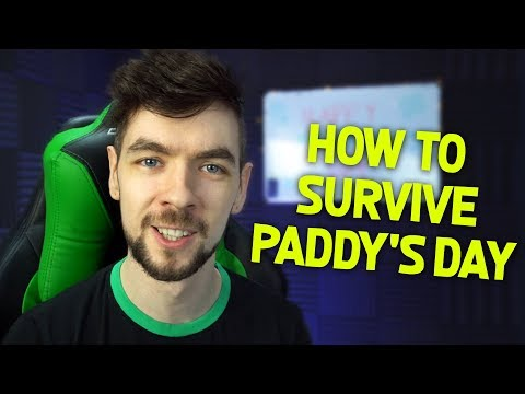 How To Survive St. Patrick's Day With Jacksepticeye (видео)