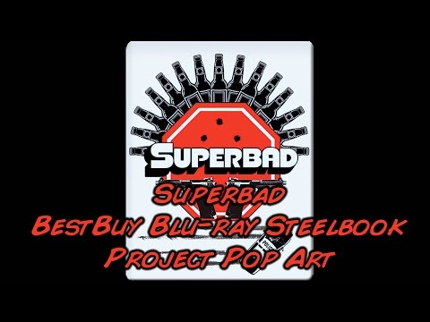 Superbad - Unrated (2007) Best Buy Project Pop Art Steelbook (Blu-ray) | Unboxing
