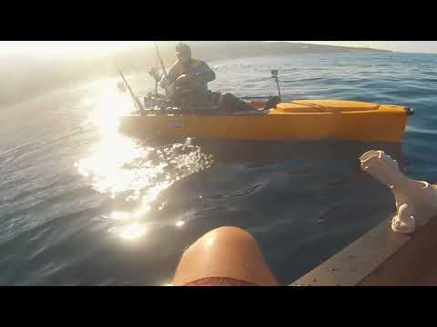 Concours de pêche en Kayak de mer