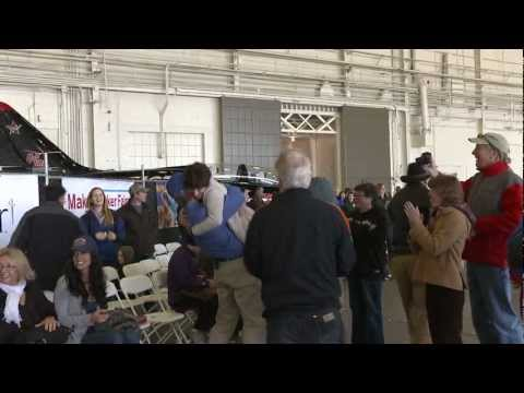 World Record Paper Airplane Throw