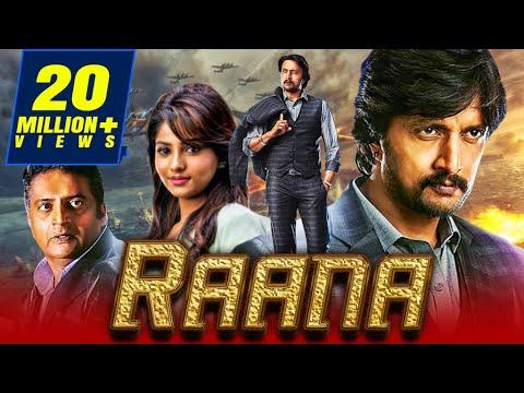 Raana Kannada Hindi Dubbed Movie | Sudeep, Rachita Ram
