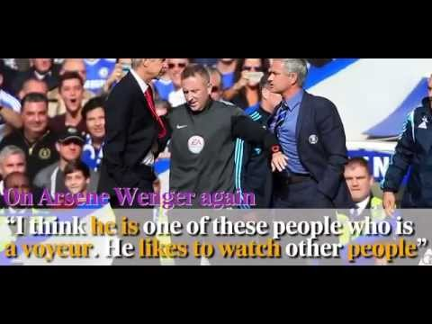 Jose Mourinho's most controversial quotes (видео)