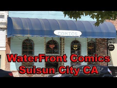 Comicbook Store Tour: WaterFront Comics in Suisun City, California