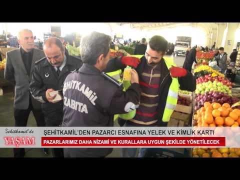 ŞEHİTKAMİL'den PAZARYERİ ESNAFINA YELEK VE KİMLİK KARTI