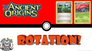 The Pokemon rotation is coming on September 1st so let's take a look at Ancient Origins and see what we're losing when this set rotates.Headlines video: https://www.youtube.com/watch?v=9t4uoyFZmmY& Primal Clash video: https://www.youtube.com/watch?v=g9PyKg654fk& Roaring Skies video: https://www.youtube.com/watch?v=DXHsvXJ_QNA Twitch: twitch.tv/ptcgradioPatreon: Patreon.com/ptcgradioTwitter: twitter.com/thewossy
