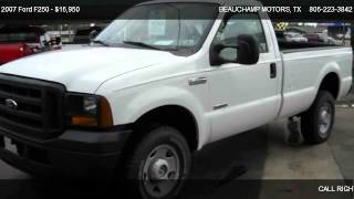 2007 Ford F250 XL - for sale in AMARILLO, TX 79110