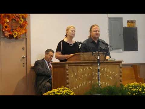 Video: Gospel duet at Eastern District Association of Primitive Baptists