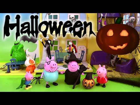 Peppa Pig Halloween Maison de luxe Deluxe Haunted House Playset Play doh