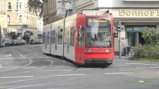 Bonn Germany  city photo : Trams in Bonn, Germany - Straßenbahnen in Bonn Deutschland