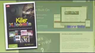 Buku Killer Joomla, Menyulap Website Spektakuler dengan Joomla