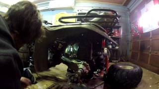 10. atv starter just clicks how to replace a solenoid and diagnose it