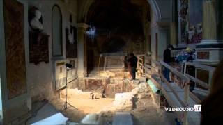 sensazionale scoperta nella cattedrale di Matera - YouTube