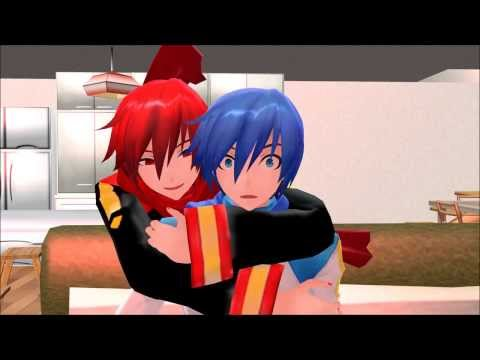 【mmd】shut Up And Sleep With Me, Kaito!