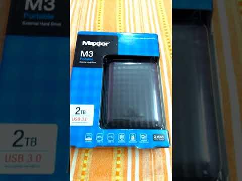 Maxtor Seagate M3 2 TB Portable External Hard Disk Drive