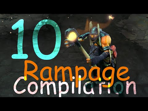 Dota 2 Rampage Compilation Ep. 10