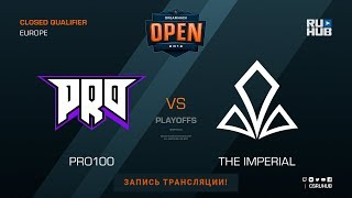 pro100 vs The Imperial - DH Summer 2018 EU Quals - map1 - de_mirage [Godmint, SleepSomeWhile]