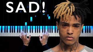 XXXTENTACION - SAD! | Piano tutorial