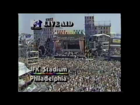 The Four Tops - It's The Same Old Song (MTV - Live Aid 7/13/1985)