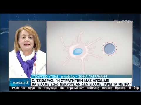 Covid-19 : Τα νεότερα στην Ελλάδα   02/04/2020   ΕΡΤ