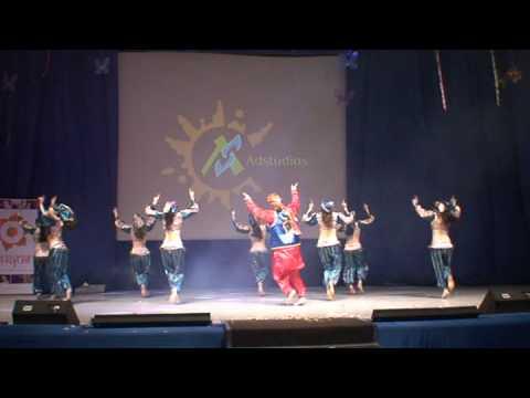 Ajanta-Moscow.Bollywood dance. (видео)