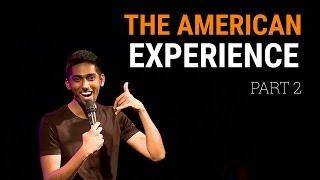 Deepu's America Experience Part 2 - Standup comedy clip!