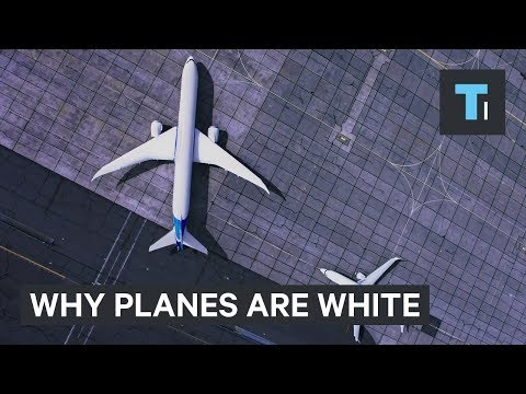 Why are Airplanes Nearly Always Painted White?
