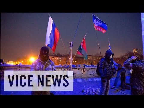 two - Subscribe to VICE News here: http://bit.ly/Subscribe-to-VICE-News On April 7, the people of Donetsk declared themselves an independent republic and called fo...
