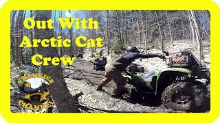7. Out With The Arctic Cat Crew