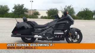 1. Used 2013 Honda Goldwing F6B Motorcycles for sale - Jacksonville, FL