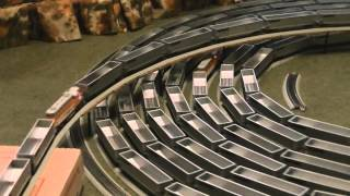 Epic Model Train Spiral Will Mesmerize You