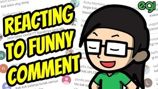 Video Reacting To Funny Comment MP3, 3GP, MP4, WEBM, AVI, FLV November 2017