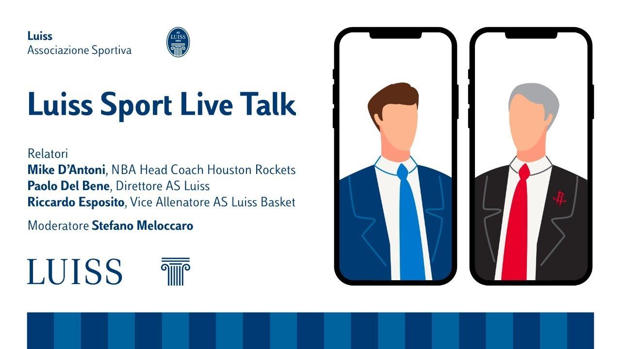 La NBA sbarca al Luiss Sport Live Talk: Stefano Meloccaro intervista Mike D'Antoni - YouTube