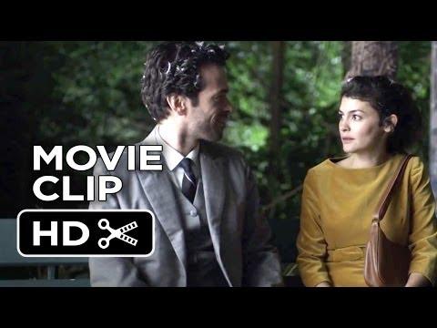 Mood Indigo Movie CLIP - First Kiss (2014) - Audrey Tautou, Romain Duris Movie HD