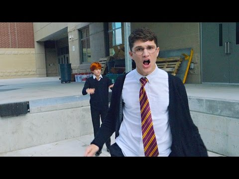 Straight Outta Hogwarts Music Video Parody
